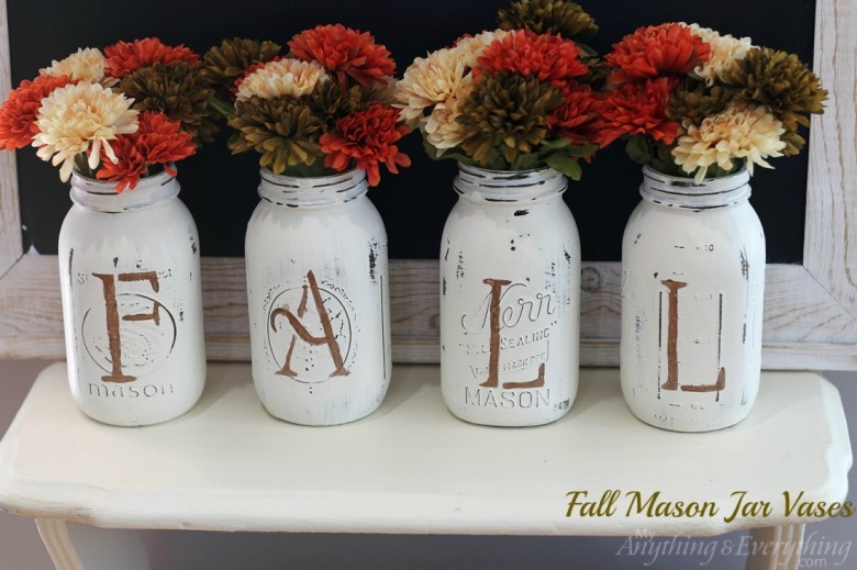 10 easy fall diy projects financial food for thought for Diy fall mason jars