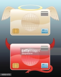 credit card angel or devil